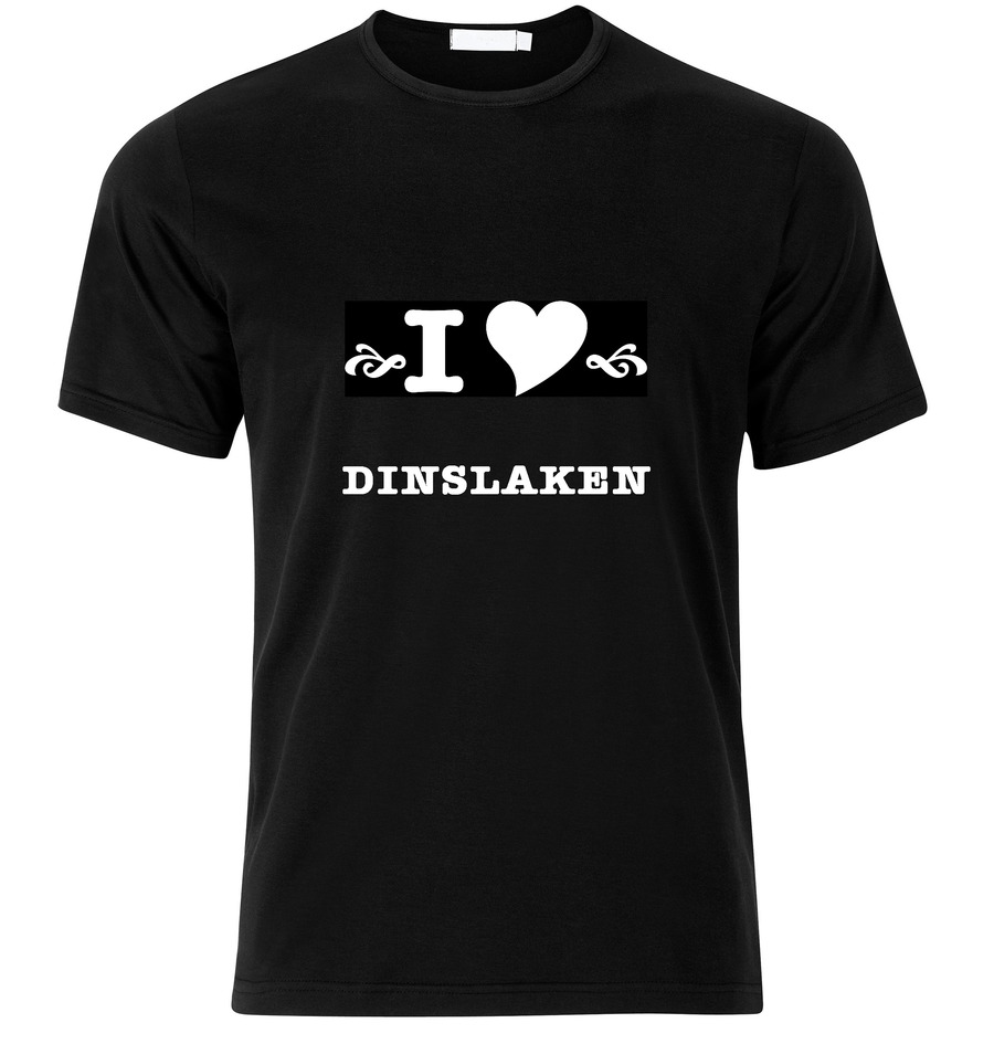 T-Shirt Dinslaken I love
